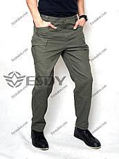 Тактичні Штани ESDY TAC-01 Олива ( Весна-Літо ), фото 2
