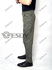 Тактичні Штани ESDY TAC-01 Олива ( Весна-Літо ), фото 3