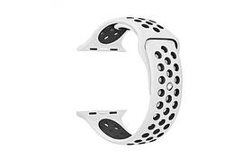 Ремешок для Apple для Watch Nike 42 mm White/Black