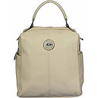 Сумка-рюкзак женская №87176 Бежевый, фото 1