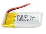 Аккумулятор универсальный 360821P 0.8 cm х 2.1 cm 3.7v 160 mAh