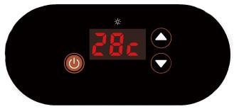 панель управления теплового насоса Fairland SHP06