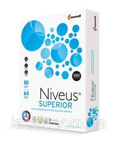 Бумага NIVEUS SUPERIOR, А4, класc A, 80г/м2, 500л, фото 2