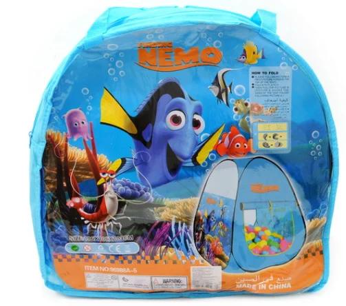 Палатка детская НЕМО в сумке 180*160*110см