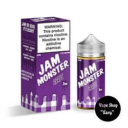 Жидкость Jam Monster Grape 100 ml 3 мг USA  Original.