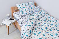 Комплект постельного белья Sweet Sleep Драконы-космонавты 155х215