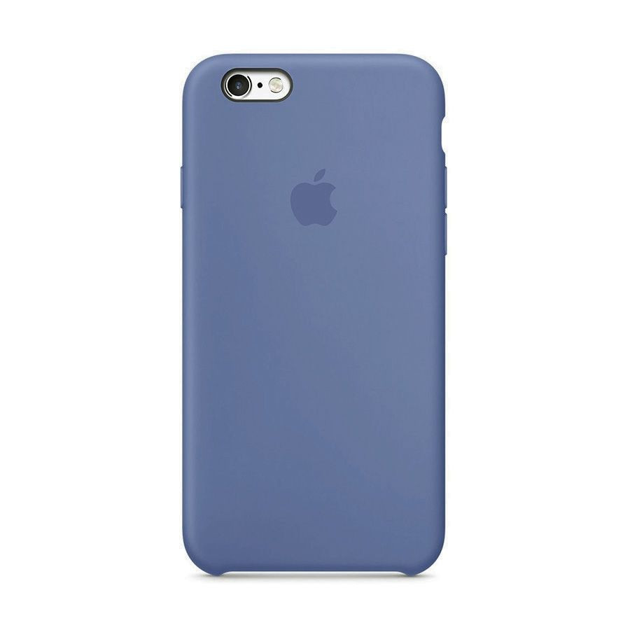 Накладка Silicone Case (high copy) iPhone 6 / 6S Синий