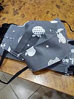 Маска защитная Apple серого цвета