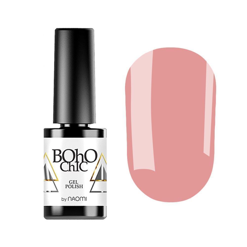 Гель-лак для ногтей Naomi Boho Chic BC188 Бежевый, 6мл