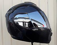 Шлем трансформер модуляр Карбон глянец