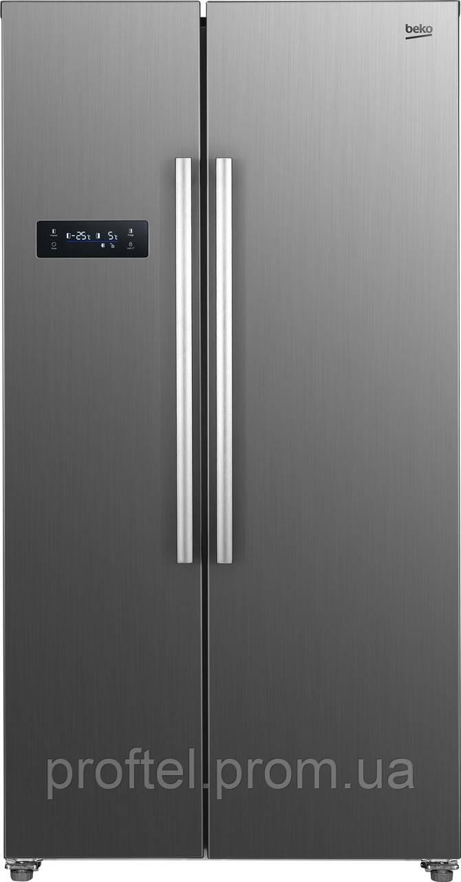 Холодильник SbS Beko GNO5221XP