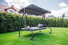 Садова гойдалка FunFit Relax Plus Grey, фото 3