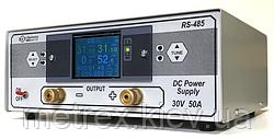 Лабораторний джерело живлення TFT 30V 50A з терморегулятором (виносним термометром) BVP Electronics