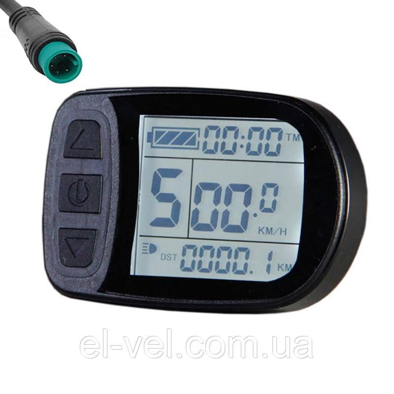 Дисплей LCD-5U 24;36;48В с герметичным разъемом