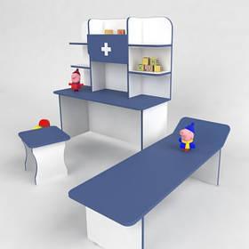 Игровая детская стенка Больница Большая от производителя
