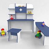 Игровая детская стенка Больница Большая от производителя, фото 2