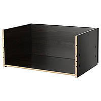 IKEA Каркас ящика, черно-коричневый, 60x25x40 см