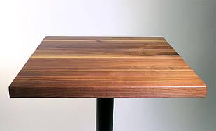 Столешница под заказ из массива дерева для стола в кафе