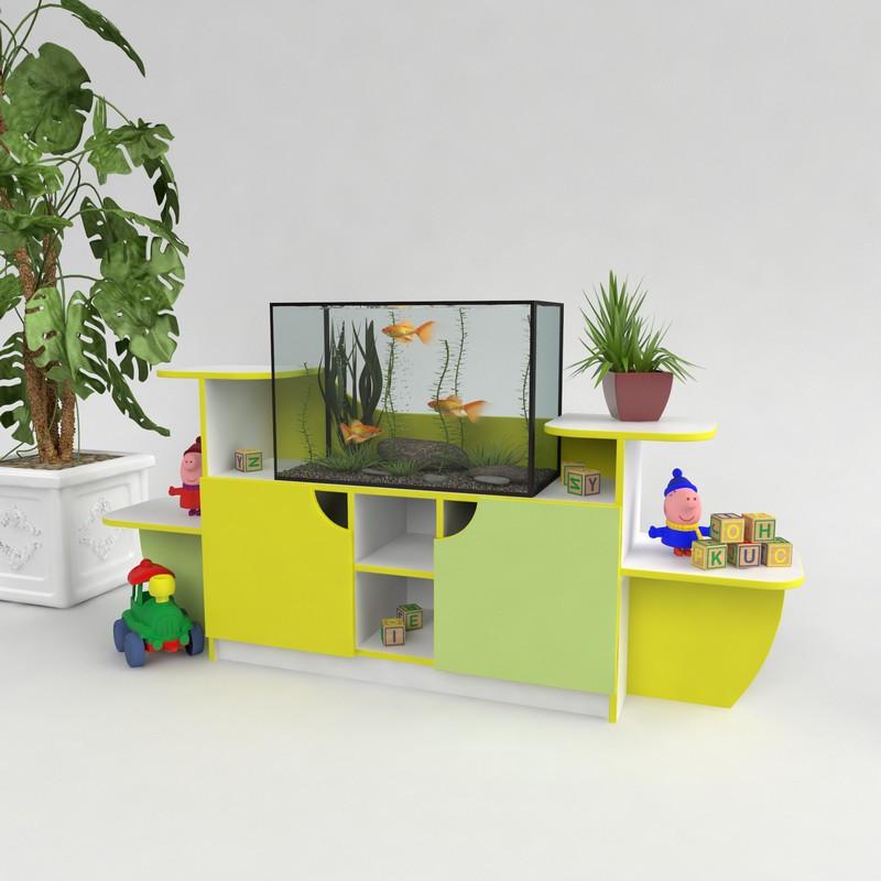 Меблі для дитячих садків. Куточок живої природи