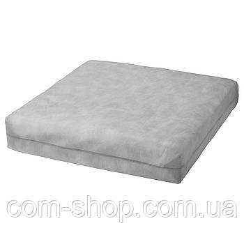 IKEA Внутренн подушка д/подушки сиденья, для сада белый с оттенком, 62x62 см