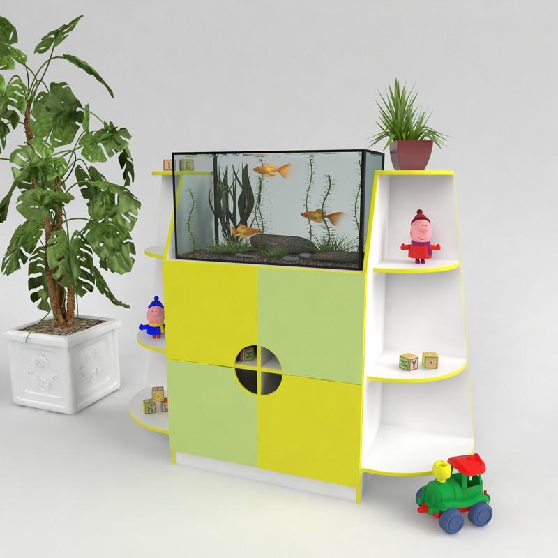 Тумба під акваріум для дитячих садів і дошкільних закладів