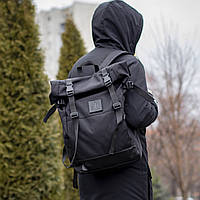 Рюкзак городской ROLLTOP AVE Роллтоп, Мужской рюкзак ROLL, Молодежный рюкзак Ролл топ