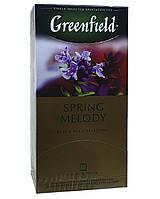 Чай черный с чебрецом и ароматом персика в пакетиках Greenfield Spring Melody 25 шт х 1,5 г (695)