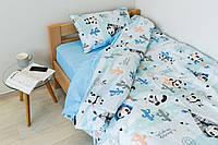 Комплект постельного белья Sweet Sleep Панды-индейцы 155х215