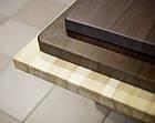 Квадратні дерев'яні стільниці для столів в кафе, бари, ресторани, фото 4
