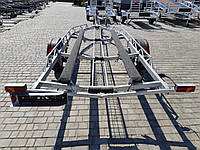 "Лидер лафет оцинкован. для перевозки лодок ""Амур"" 6.20м, фото 1"