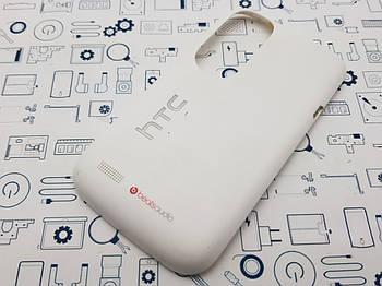 Задняя крышка HTC T328e белая Сервисный оригинал с разборки