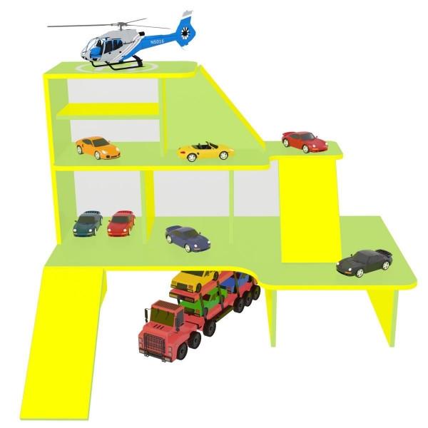 Игровая мебель Автопарк, зона для игр в садике