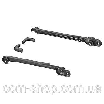 IKEA Направляющие для корзин, темно-серый, 35 см