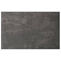 IKEA Дверь/фронтальная панель ящика, темно-серый под бетон, 60x38 см