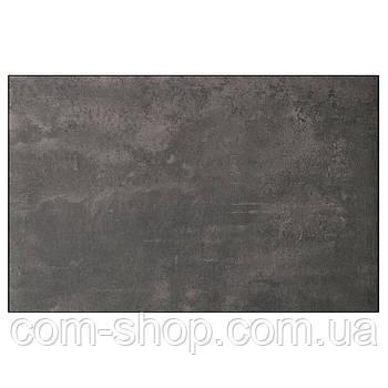 Дверь, фронтальная панель ящика IKEA, БЕСТО темно-серый под бетон, 60x38 см