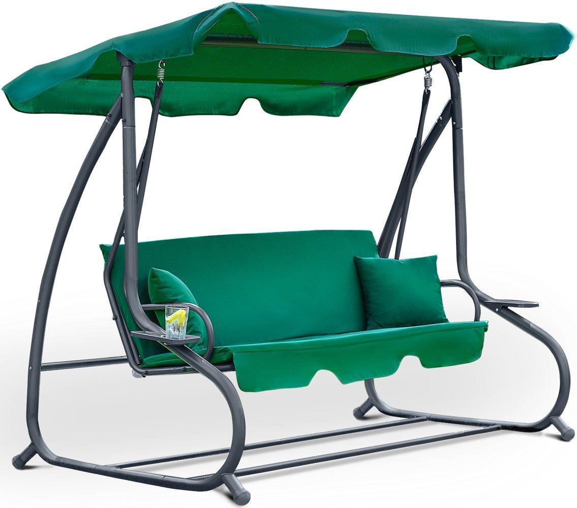 Садова гойдалка FunFit Relax Plus Green