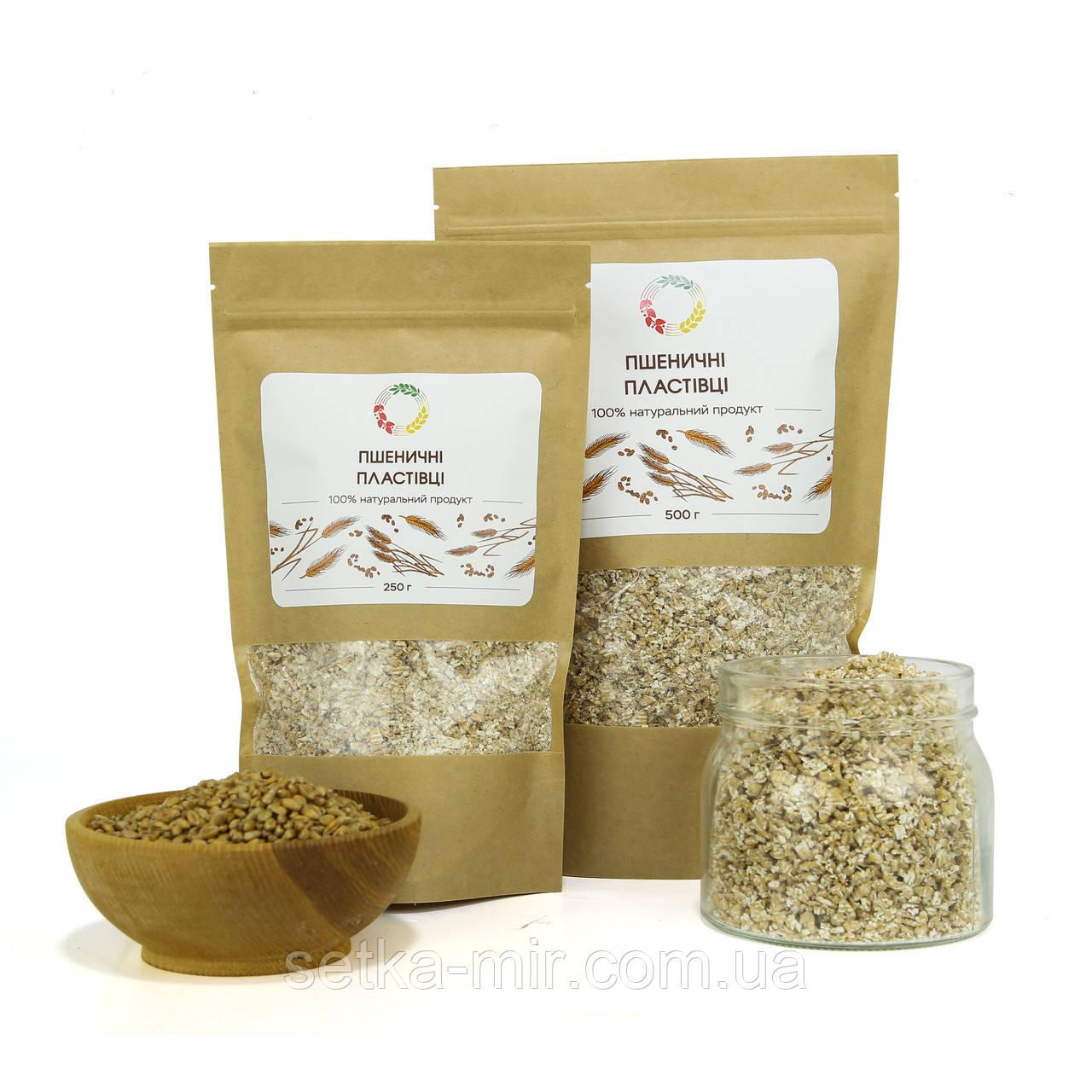 Пшеничные хлопья 20 кг сертифицированные без ГМО