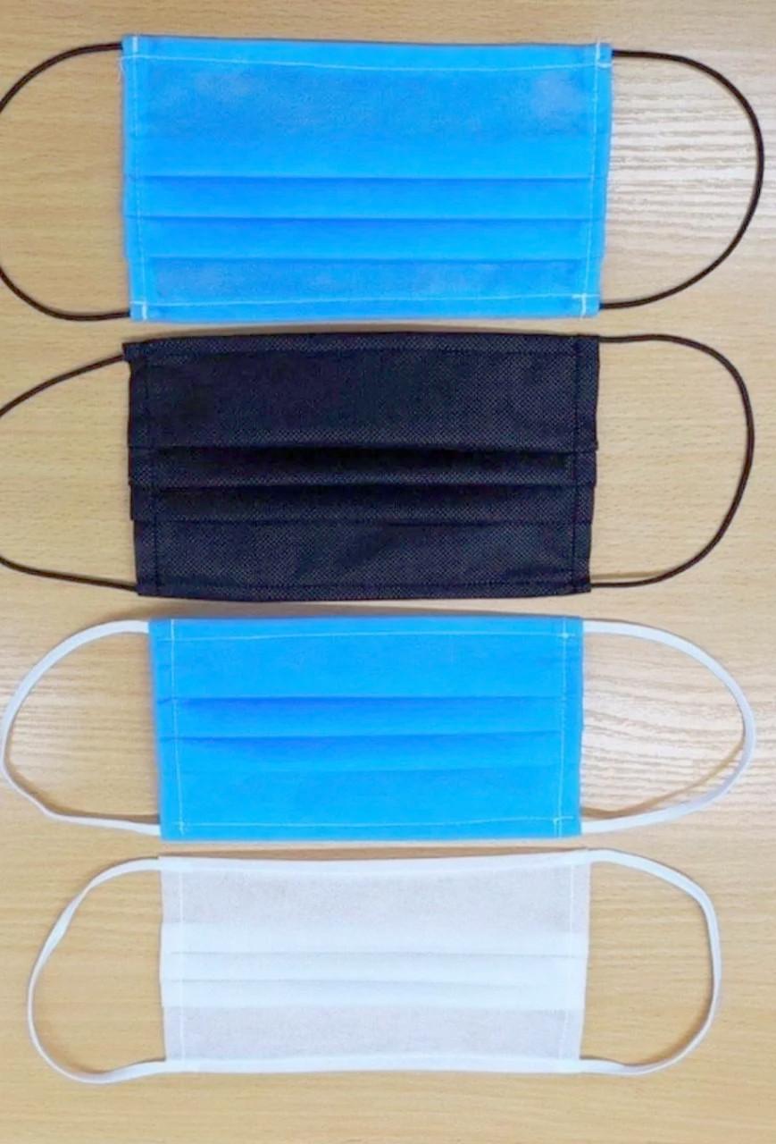Защитная повязка для лица одноразовая штампованная (упаковка 1000 штук)