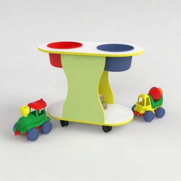 Детский столик игровой для песка и воды