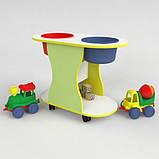 Детский столик игровой для песка и воды, фото 2