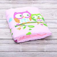 Подушка для кормления и укачивания новорожденных, на руку - совы 2