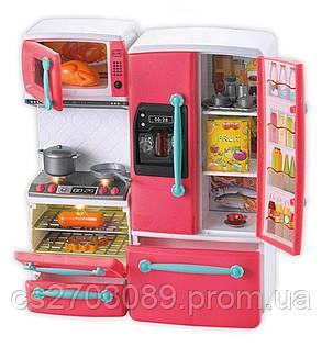 Набор кухонный: плита и холодильник, свет, зкук, фото 2
