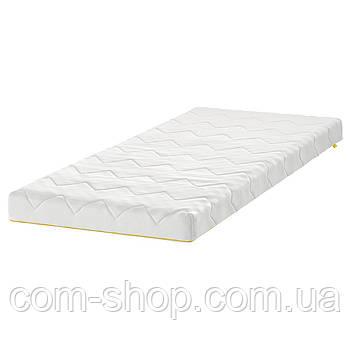 IKEA Матрас для детской кровати, белый, 70x160 см