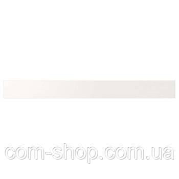 IKEA Фронтальная панель ящика, низкая, белый, 80 см