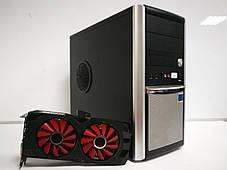 Euro Com / Intel Core i5-4570 (4 ядра по 3.2 - 3.6 GHz) / 12 GB DDR3 / 480 GB SSD NEW / AMD Radeon RX 470, 8 GB GDDR5, 256bit / Блок питания 600W NEW, фото 3