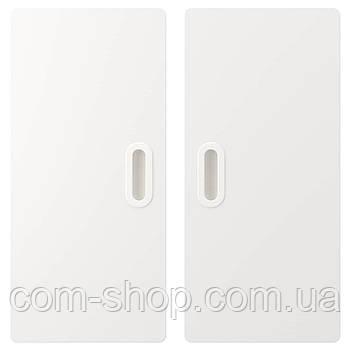 IKEA Дверь, белый, 60x64 см 2 шт