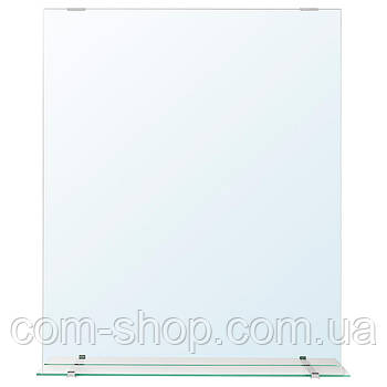 IKEA Зеркало с полкой, 50x60 см