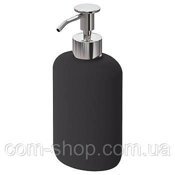 IKEA Дозатор для жидкого мыла, темно-серый