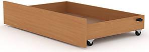 Ящик выдвижной для кроватей Классика и Модерн КОМПАНИТ Бук (99.7х61.6х19 см)