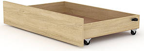 Ящик выдвижной для кроватей Классика и Модерн КОМПАНИТ Дуб сонома (99.7х61.6х19 см)